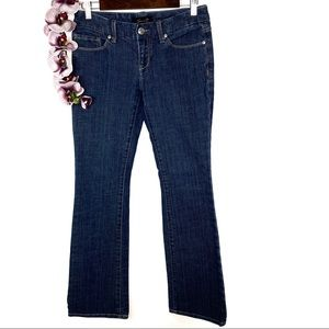 Seven For All Mankind Dark Wash Boot Cut Jeans 4